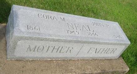 TILFORD NEAL, CORA M. - Butler County, Iowa | CORA M. TILFORD NEAL