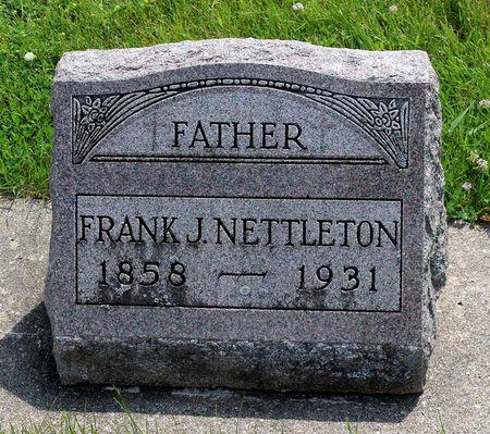 NETTLETON, FRANK J. - Butler County, Iowa   FRANK J. NETTLETON