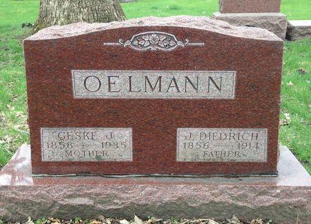 AKKERMANN OELMANN, GESKE J. - Butler County, Iowa   GESKE J. AKKERMANN OELMANN