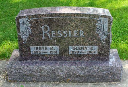 RESSLER, IRENE M. - Butler County, Iowa | IRENE M. RESSLER
