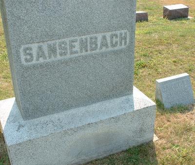 SANSENBACH, EMMA E. - Butler County, Iowa | EMMA E. SANSENBACH