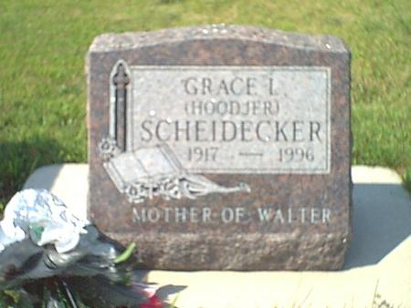 HOODJER SCHEIDECKER, GRACE - Butler County, Iowa | GRACE HOODJER SCHEIDECKER