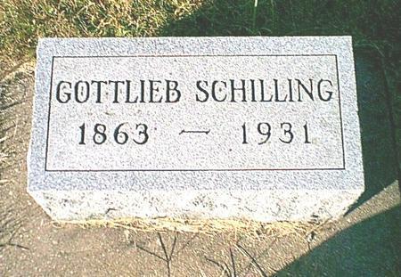 SCHILLING, GOTTLIEB - Butler County, Iowa | GOTTLIEB SCHILLING