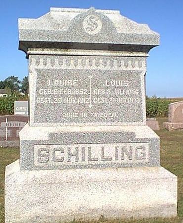 SCHILLING, LOUIS - Butler County, Iowa | LOUIS SCHILLING
