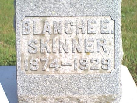 ALDRICH SKINNER, BLANCHE - Butler County, Iowa | BLANCHE ALDRICH SKINNER