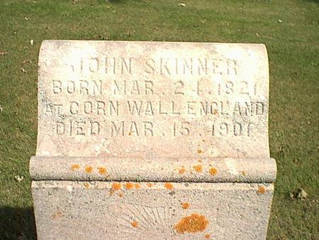 SKINNER, JOHN - Butler County, Iowa | JOHN SKINNER