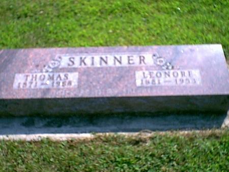 SKINNER, THOMAS - Butler County, Iowa | THOMAS SKINNER
