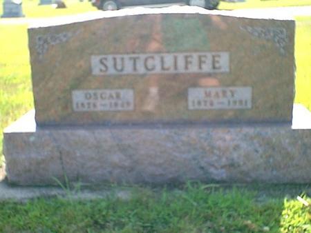 SUTCLIFFE, OSCAR - Butler County, Iowa | OSCAR SUTCLIFFE