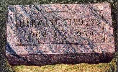 FRANKEN TIEDENS, HERMINE - Butler County, Iowa | HERMINE FRANKEN TIEDENS