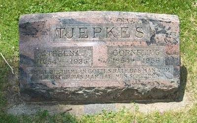 TJEPKES, TEBENA - Butler County, Iowa | TEBENA TJEPKES