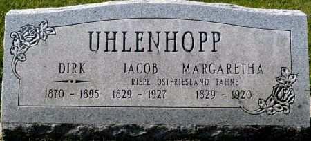 LOESCHEN UHLENHOPP, MARGARETHA - Butler County, Iowa | MARGARETHA LOESCHEN UHLENHOPP
