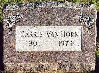 VAN HORN, CARRIE - Butler County, Iowa | CARRIE VAN HORN