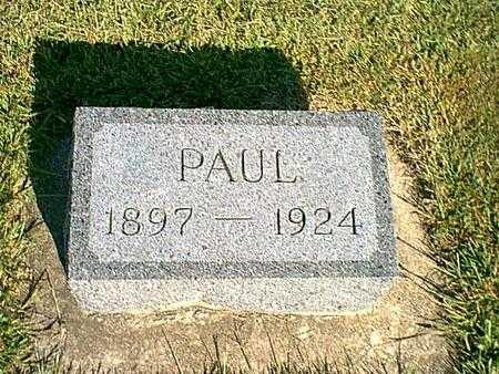 VAN SLYKE, PAUL - Butler County, Iowa | PAUL VAN SLYKE