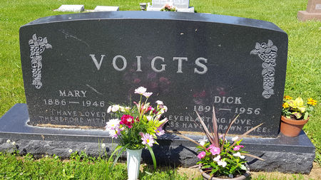 VOIGTS, MARY - Butler County, Iowa | MARY VOIGTS
