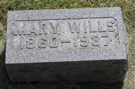 MELUM WILLS, MARY - Butler County, Iowa | MARY MELUM WILLS