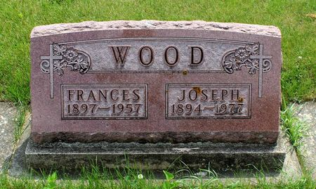 WOOD, FRANCES - Butler County, Iowa | FRANCES WOOD