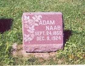 NAAB, ADAM - Butler County, Iowa   ADAM NAAB