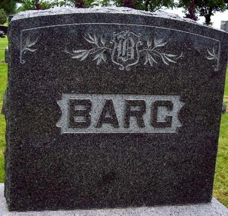 BARG, FAMILY MEMORIAL - Calhoun County, Iowa | FAMILY MEMORIAL BARG