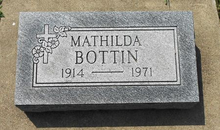 BOTTIN, MATHILDA - Calhoun County, Iowa | MATHILDA BOTTIN