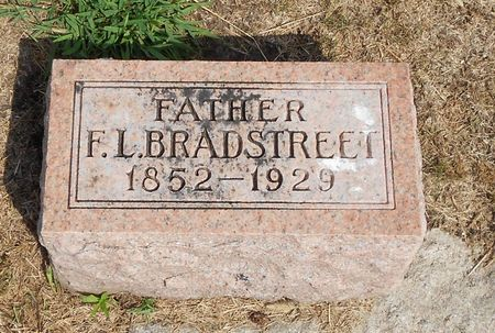 BRADSTREET, FRANK L - Calhoun County, Iowa   FRANK L BRADSTREET