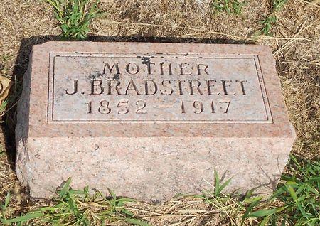 BRADSTREET, JEMIMA - Calhoun County, Iowa   JEMIMA BRADSTREET