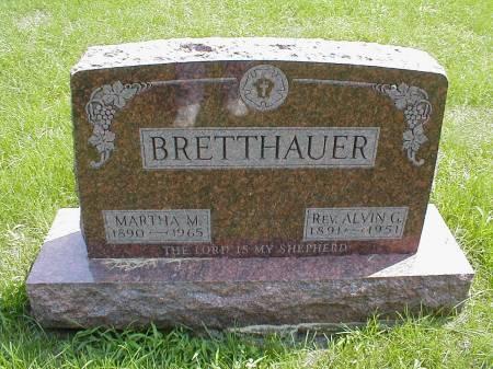 BRETTHAUER, ALVIN - Calhoun County, Iowa   ALVIN BRETTHAUER