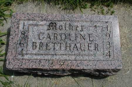 MERKEL BRETTHAUER, CAROLINE - Calhoun County, Iowa | CAROLINE MERKEL BRETTHAUER