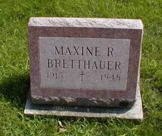 BRETTHAUER, MAXINE - Calhoun County, Iowa | MAXINE BRETTHAUER