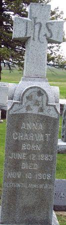 CHARVAT, ANNA - Calhoun County, Iowa   ANNA CHARVAT