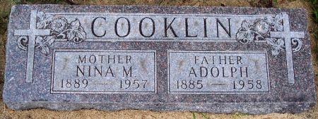 COOKLIN, NINA MAE - Calhoun County, Iowa | NINA MAE COOKLIN