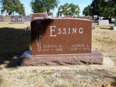 ESSING, ALFRED - Calhoun County, Iowa | ALFRED ESSING
