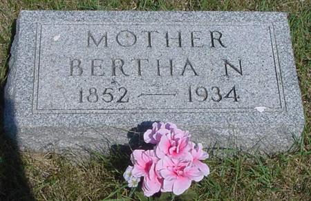 FROTSCHER, BERTHA - Calhoun County, Iowa | BERTHA FROTSCHER