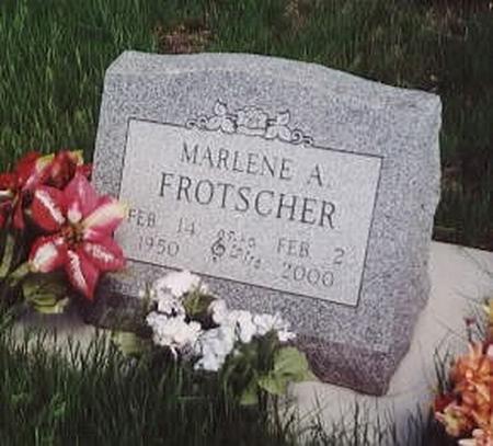FROTSCHER, MARLENE - Calhoun County, Iowa | MARLENE FROTSCHER