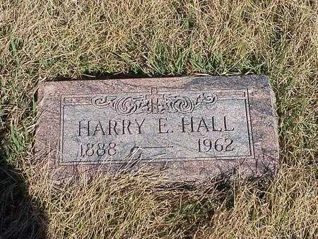 HALL, HARRY ELLSWORTH - Calhoun County, Iowa | HARRY ELLSWORTH HALL