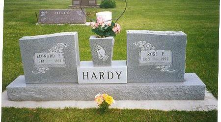 HARDY, LEONARD  BERT - Calhoun County, Iowa | LEONARD  BERT HARDY