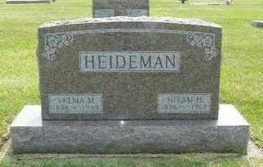 FITZ HEIDEMAN, VELMA M. - Calhoun County, Iowa | VELMA M. FITZ HEIDEMAN
