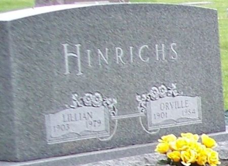 HINRICHS, ORVILLE - Calhoun County, Iowa | ORVILLE HINRICHS