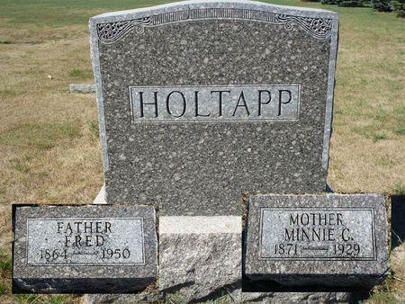 SCHULTZ HOLTAPP, MINNIE C. - Calhoun County, Iowa | MINNIE C. SCHULTZ HOLTAPP
