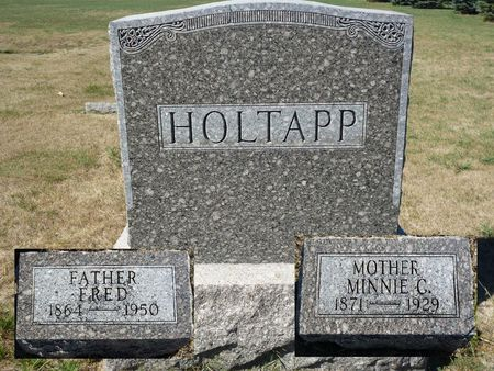 HOLTAPP, FRED - Calhoun County, Iowa | FRED HOLTAPP