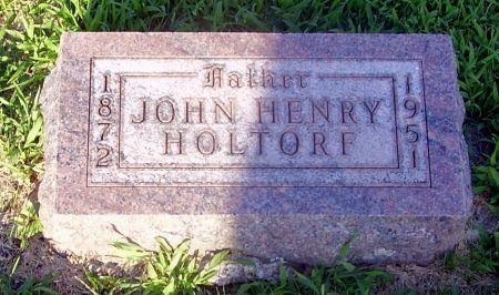 HOLTORF, JOHN HENRY - Calhoun County, Iowa | JOHN HENRY HOLTORF