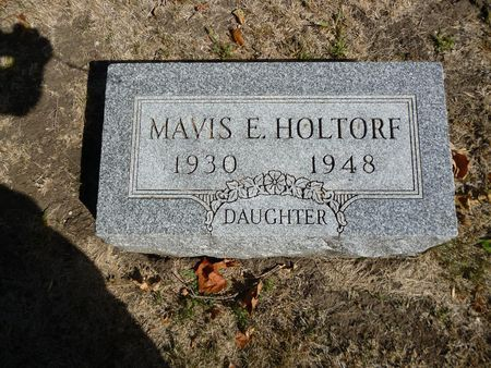 HOLTORF, MAVIS E. - Calhoun County, Iowa | MAVIS E. HOLTORF