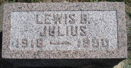 JULIUS, LEWIS B. - Calhoun County, Iowa | LEWIS B. JULIUS