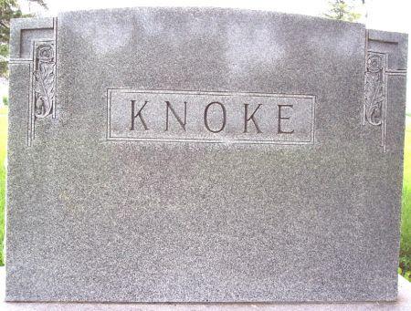 KNOKE, FAMILY MEMORIAL - Calhoun County, Iowa | FAMILY MEMORIAL KNOKE