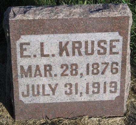 KRUSE, ERNEST LOUIS - Calhoun County, Iowa | ERNEST LOUIS KRUSE