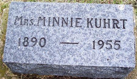 KUHRT, MINNIE MARY - Calhoun County, Iowa | MINNIE MARY KUHRT