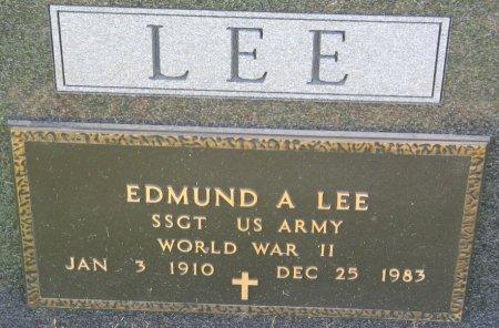 LEE, EDMUND ANSKER - Calhoun County, Iowa | EDMUND ANSKER LEE