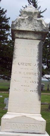 LOWREY, ELIZABETH J - Calhoun County, Iowa   ELIZABETH J LOWREY