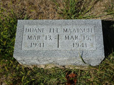 MAATSCH, DUANE LEE - Calhoun County, Iowa | DUANE LEE MAATSCH