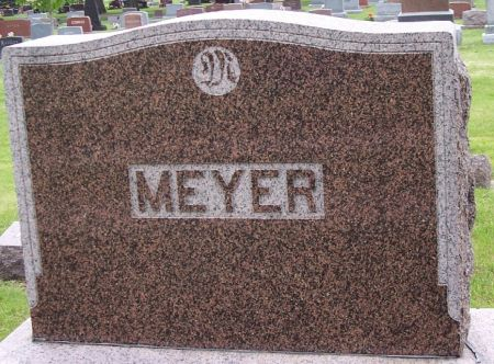 MEYER, FAMILY MEMORIAL - Calhoun County, Iowa | FAMILY MEMORIAL MEYER