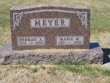 MEYER, MARIE M. - Calhoun County, Iowa   MARIE M. MEYER